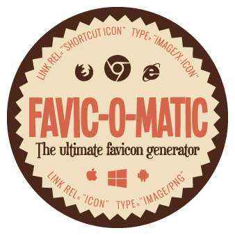 The ultimate favicon generator - Favic-o-Matic